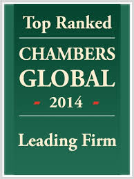 Top Ranked Chambers Global 2014 Leading Firm