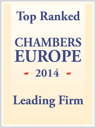 Top Ranked Chambers Europe 2014 Leading Firm
