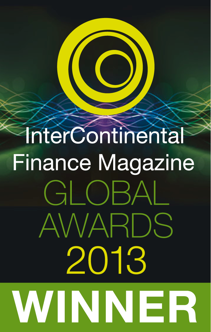 InterContinental Finance Magazine Global Awards Winner 2013
